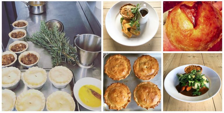 Homemade Wild Sussex Venison and Smoked Bacon Pies