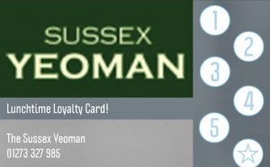 Lunchtime Loyalty Card